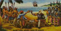 the miguel lopez de legaspi expedition essay Free essay: the pre-spanish period historical permanent spanish settlement was not established until 1565 when an expedition led by miguel lópez de legazpi.