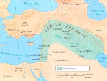 Linear Population Model: Fertile Crescent Components do ... |Fertile Crescent Population Density