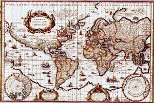 the Mercator projection (1569)